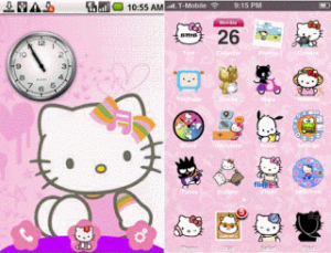 Android Hello Kitty Theme
