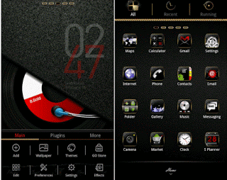 B.Gold GO launcher EX theme 1.3