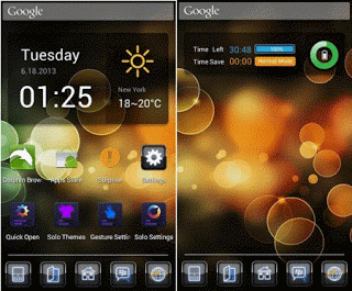 Blackey GO Launcher Theme