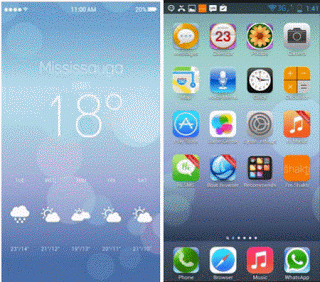 iPhone 6 Plus Launcher