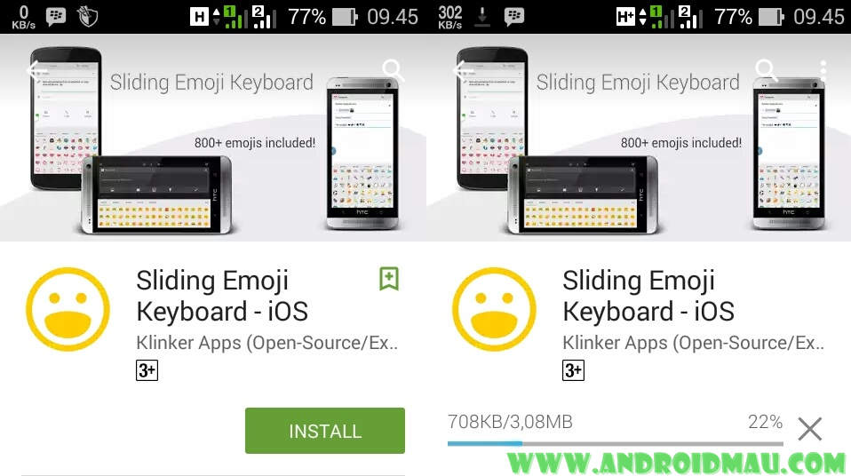 Pasang Emoji iPhone Lucu di Android