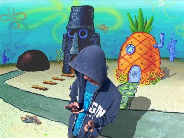 Cara Edit Foto Background Ala Spongebob Bikini Bottom Kekinian Di Android