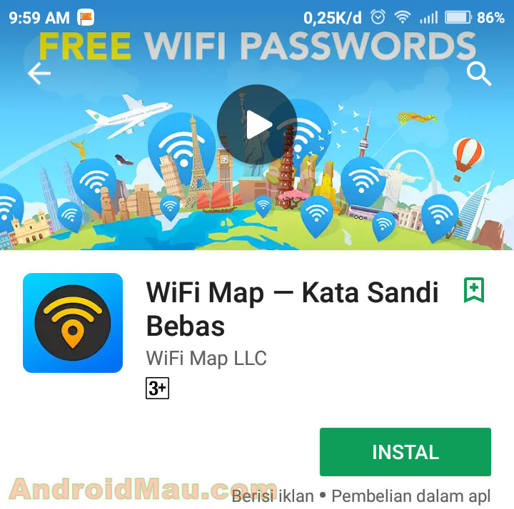 cara menambahkan wifi di wifi map