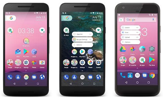 Tema Android Nougat