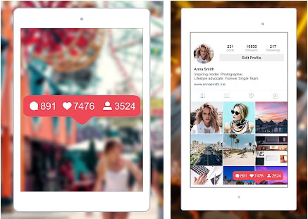 SocialPro: Real Followers and Likes for Instagram