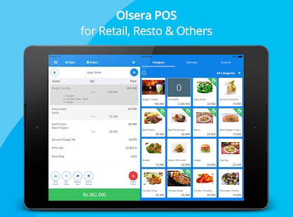 Olsera - Point Of Sale V2