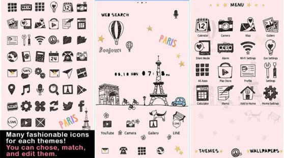 Cute Theme-Little Paris