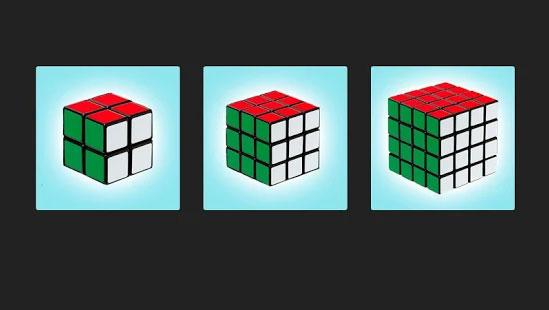 Kubus Rubik 3D Puzzle