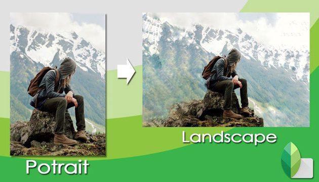 Cara Merubah Foto Potrait Menjadi Landscape Di Android