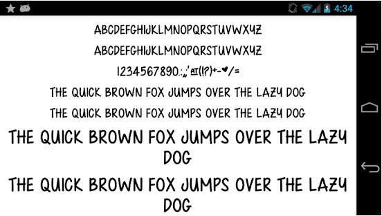 Fonts For Flip Font 50